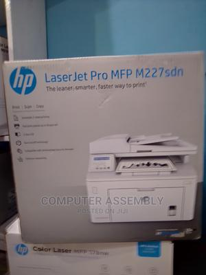 HP PRO M227sdn MFP Laserjet Printer. Print, Scan, Photocopy | Printers & Scanners for sale in Kaduna State, Kaduna / Kaduna State