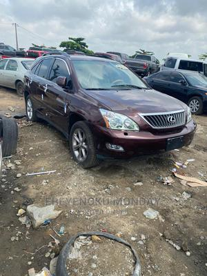 Lexus RX 2008 350 AWD Red   Cars for sale in Lagos State, Amuwo-Odofin