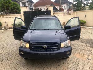 Toyota Highlander 2004 V6 AWD Blue | Cars for sale in Abuja (FCT) State, Gwarinpa
