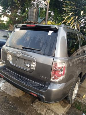 Honda Pilot 2007 EX-L 4x4 (3.5L 6cyl 5A) Gray | Cars for sale in Lagos State, Yaba