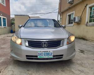 Honda Accord 2009 2.4 EX Silver   Cars for sale in Lagos State, Ajah