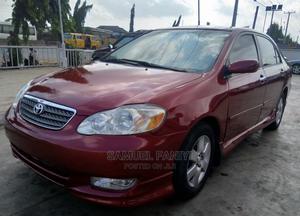 Toyota Corolla 2007 Red | Cars for sale in Lagos State, Ifako-Ijaiye