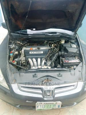 Honda Accord 2004 Sedan EX Gray   Cars for sale in Lagos State, Alimosho