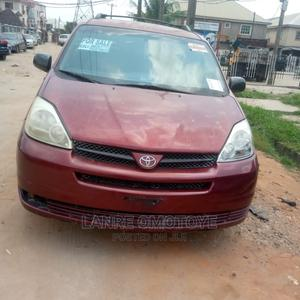 Toyota Sienna 2005 Red | Cars for sale in Lagos State, Isolo