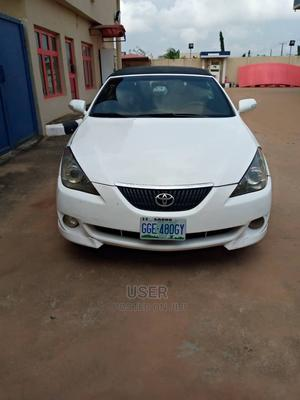Toyota Solara 2006 3.3 Convertible White | Cars for sale in Lagos State, Surulere