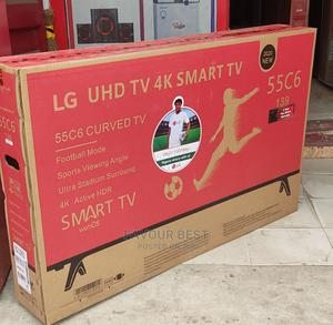 """LG 55""""UHD Curved Smart Android TV Netflix Youtube App +Mount 