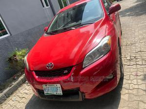 Toyota Matrix 2010 Red   Cars for sale in Lagos State, Ikeja