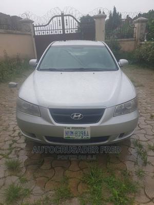 Hyundai Sonata 2008 2.4 Automatic Silver | Cars for sale in Abuja (FCT) State, Jabi