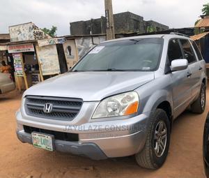 Honda Pilot 2004 EX 4x4 (3.5L 6cyl 5A) Silver   Cars for sale in Lagos State, Ikorodu