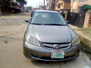 Honda Civic 2005 1.4i S Gray   Cars for sale in Lagos State, Isolo