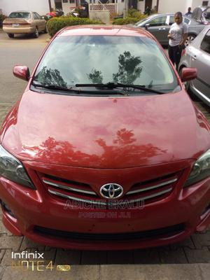 Toyota Corolla 2012 Red | Cars for sale in Abuja (FCT) State, Maitama