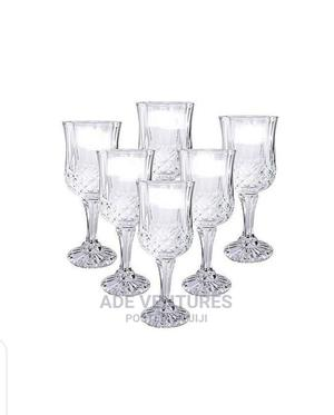 Outstanding Wine Glass Cup Set 6pcs | Kitchen & Dining for sale in Lagos State, Lagos Island (Eko)