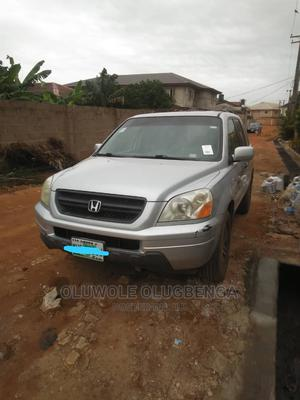 Honda Pilot 2005 EX 4x4 (3.5L 6cyl 5A) Silver | Cars for sale in Lagos State, Ikoyi