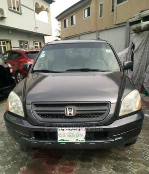Honda Pilot 2003 EX 4x4 (3.5L 6cyl 5A) Gray | Cars for sale in Lagos State, Ajah