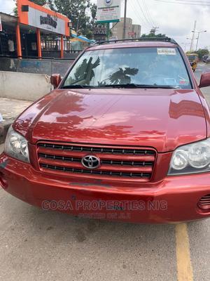 Toyota Highlander 2003 Red | Cars for sale in Lagos State, Ogudu