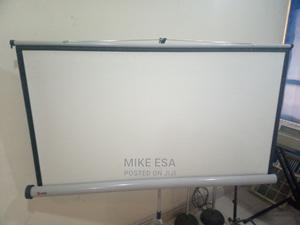 60 X 60 Projector Screen | Photo & Video Cameras for sale in Abuja (FCT) State, Wuse