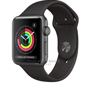 Iwatch Series 3 42mm God Only Black   Smart Watches & Trackers for sale in Lagos State, Ikeja