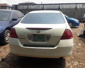 Honda Accord 2007 White   Cars for sale in Lagos State, Yaba