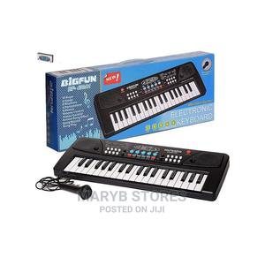 Mini 61 Key Piano Keyboard Toy for Kids With Microphone | Toys for sale in Lagos State, Surulere