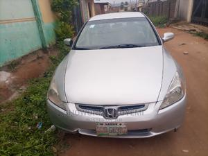 Honda Accord 2005 Automatic Silver | Cars for sale in Ogun State, Ifo