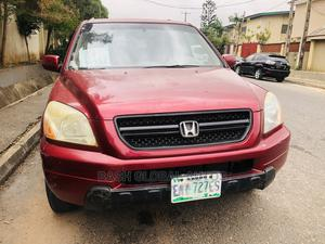 Honda Pilot 2004 LX 4x4 (3.5L 6cyl 5A) Red | Cars for sale in Lagos State, Ikeja