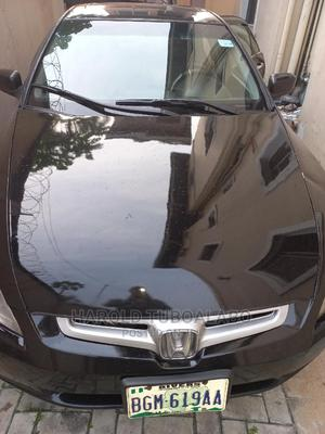 Honda Accord 2003 Black | Cars for sale in Rivers State, Port-Harcourt