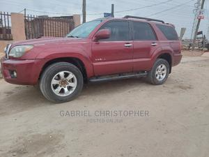 Toyota 4-Runner 2006 Limited 4x4 V6 Red   Cars for sale in Lagos State, Surulere