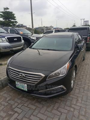 Hyundai Sonata 2016 Black | Cars for sale in Lagos State, Lekki
