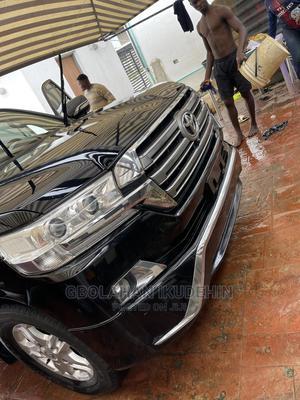 Toyota Land Cruiser 2018 5.7 V8 VXR Black | Cars for sale in Lagos State, Ajah