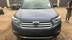 Toyota Highlander 2013 3.5L 4WD Blue   Cars for sale in Lagos State, Badagry