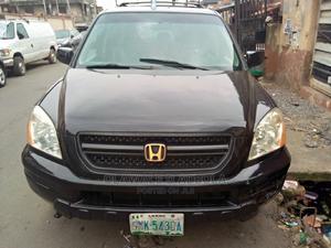Honda Pilot 2005 EX 4x4 (3.5L 6cyl 5A) Black | Cars for sale in Lagos State, Ojodu