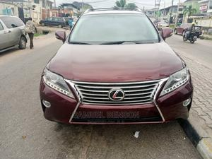 Lexus RX 2015 350 AWD Red | Cars for sale in Lagos State, Ikeja
