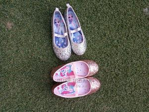 Pink and Silver Flat Princess Shoes   Children's Shoes for sale in Lagos State, Ajah