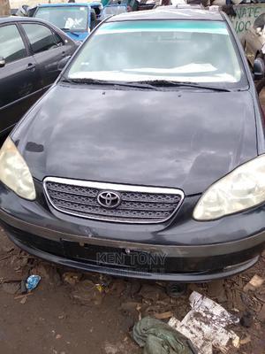 Toyota Corolla 2004 Sedan Automatic Black | Cars for sale in Anambra State, Onitsha