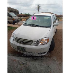 Toyota Corolla 2004 1.4 D Automatic White   Cars for sale in Edo State, Benin City