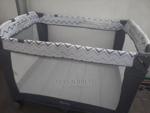 Baby Cot / Play Pen With Side Accessories Pouch   Children's Furniture for sale in Lagos State, Ikeja