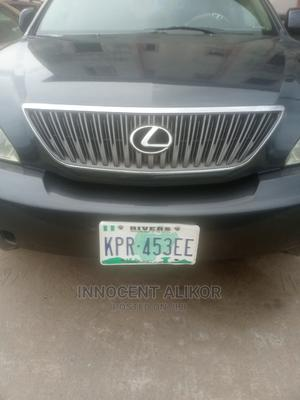 Lexus RX 2004 300 2WD Black | Cars for sale in Rivers State, Port-Harcourt