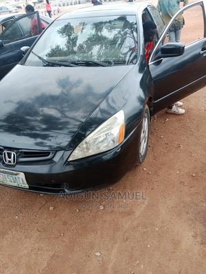 Honda Accord 2004 2.4 Type S Black   Cars for sale in Abuja (FCT) State, Kubwa
