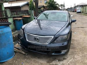 Lexus LS 2010 460 AWD Blue | Cars for sale in Lagos State, Surulere