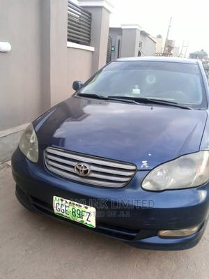 Toyota Corolla 2003 Sedan Automatic Blue   Cars for sale in Lagos State, Abule Egba