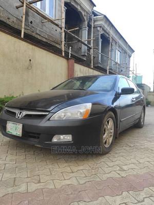 Honda Accord 2007 Black | Cars for sale in Lagos State, Alimosho