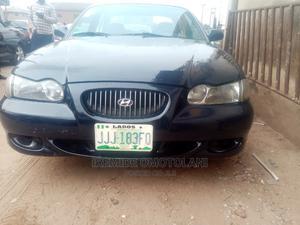 Hyundai Sonata 2002 Blue | Cars for sale in Lagos State, Abule Egba