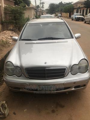 Mercedes-Benz C-Class 2003 C 200 Kompressor (S203) Silver   Cars for sale in Edo State, Benin City