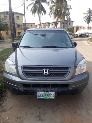 Honda Pilot 2004 Gray   Cars for sale in Lagos State, Surulere