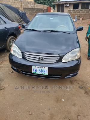 Toyota Corolla 2004 Sedan Automatic Black | Cars for sale in Kwara State, Ilorin West
