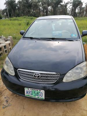 Toyota Corolla 2006 Black   Cars for sale in Lagos State, Ajah