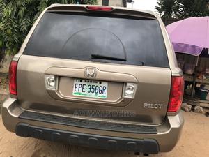 Honda Pilot 2003 EX 4x4 (3.5L 6cyl 5A) Gold   Cars for sale in Lagos State, Ikeja