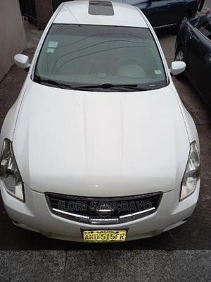 Nissan Maxima 2007 SE White   Cars for sale in Lagos State, Surulere