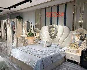Complete Set of Royal Bed With 2 Drawers /Wardrobe Console   Furniture for sale in Lagos State, Ojo