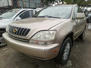 Lexus RX 2001 300 4WD Gold | Cars for sale in Lagos State, Apapa